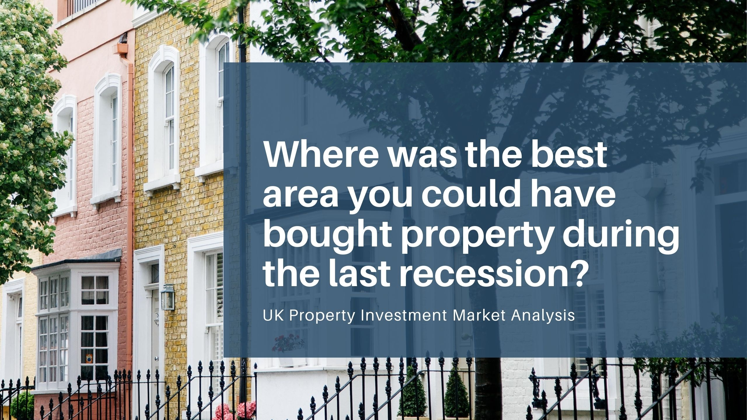 UK Property Investment Recession